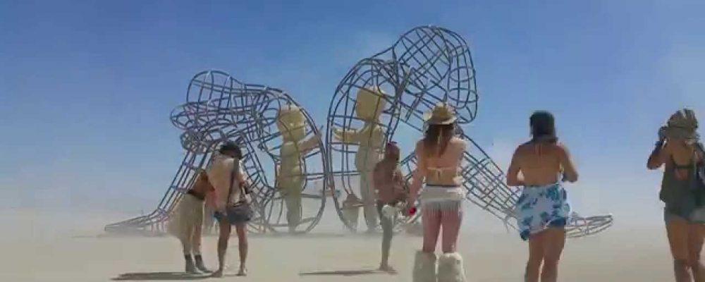The First Ukrainian 'Burning Man' Project